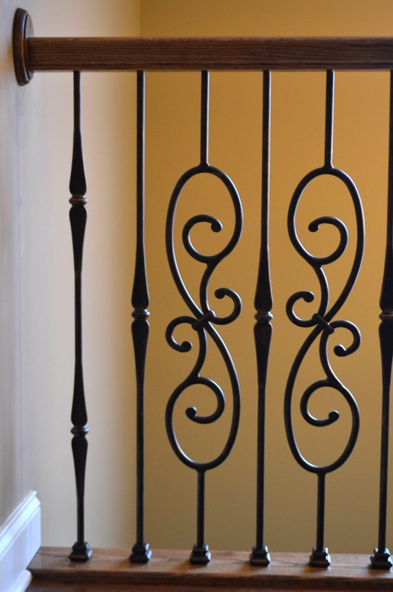 interior iron railing