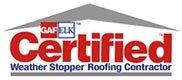 GAF ELK Certified Weather Stopper Roofing Contractor