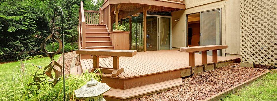 Create A Deck Or Patio Area
