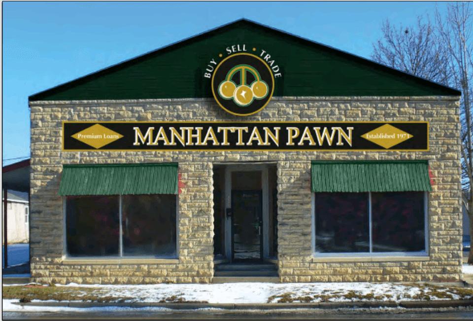 Manhattan Pawn Shop Front