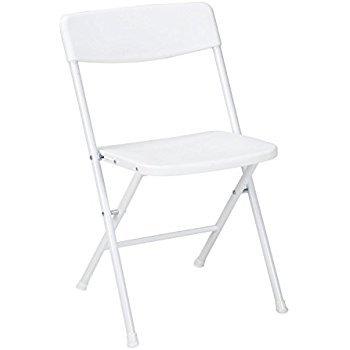 Folding White Chair