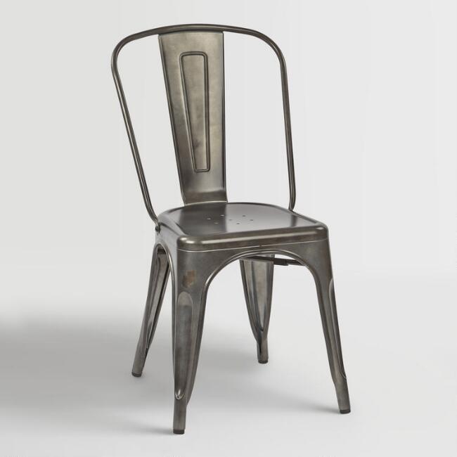 Metal Chair (Silver or Chrome)