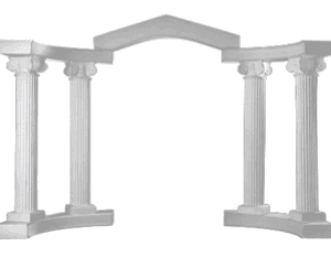 White Roman Arch