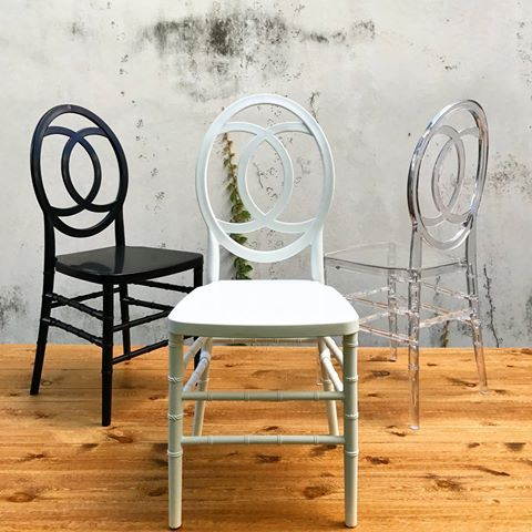 Unity Chair (White, Black or Clear)