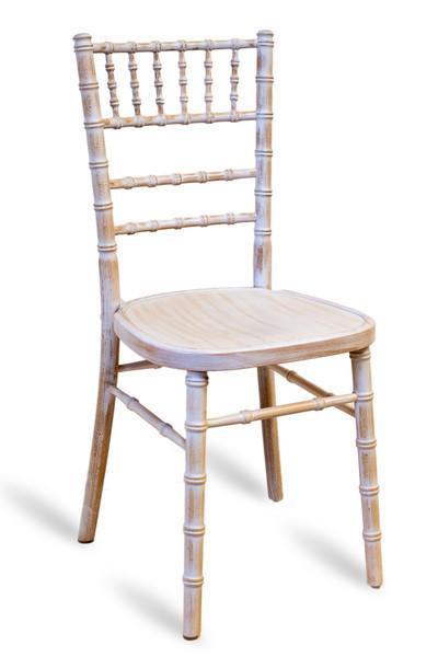 White Wash Chiavari Chair