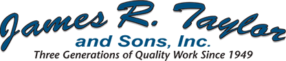 James R Taylor & Sons - Logo