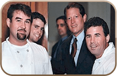Picture of chefs and owners