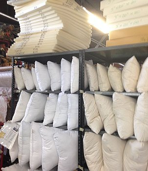 Freddy Farkel's Fabric Showplace Pillows, Notions, Trim ...