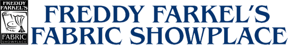 Freddy Farkel's Fabric Showplace logo