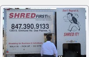 Unwanted documents for disposal