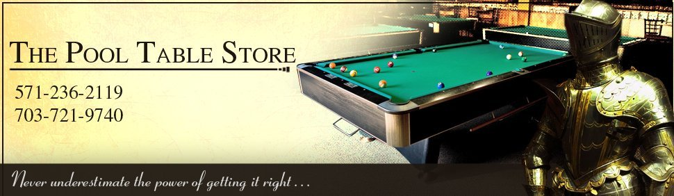 Pool Tables Alexandria VA The Pool Table Store - Pool table repair maryland