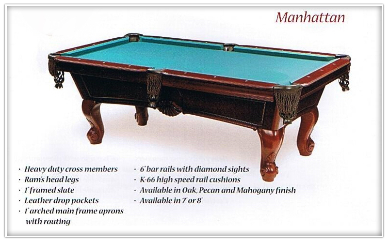 The Pool Table Store Photo Gallery Alexandria VA - Billiard table and accessories