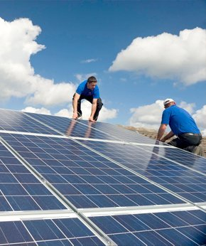Solar panel installation | Hugo, OK | Dave's Electrical Service & Systems | 580-326-7700