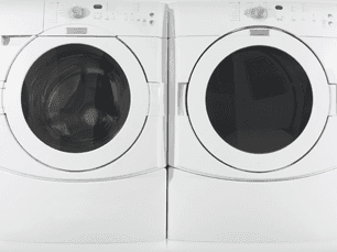 Image of a washer and dryer for Danny's Appliance Service LLC, washing machine and clothes dryer repair in Bergen County, Essex County, Hudson County, Passaic County, NJ.