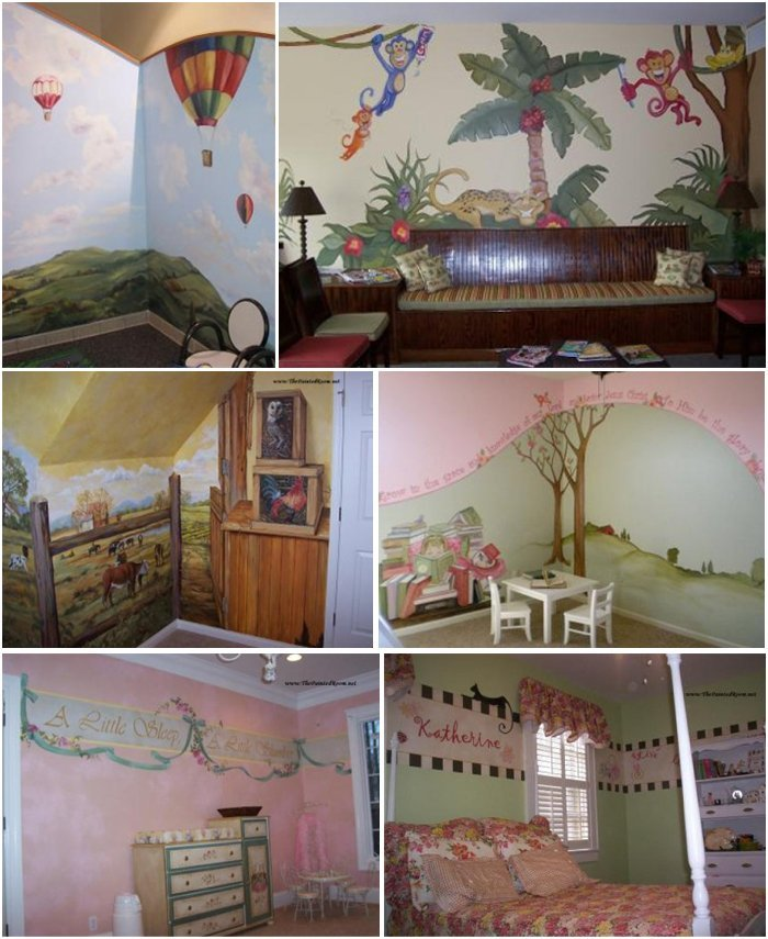 Children's Rooms - Knoxville, TN - The Painted Room