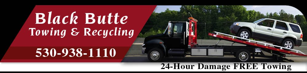 Towing Services - Weed, CA - Black Butte Towing & Recycling