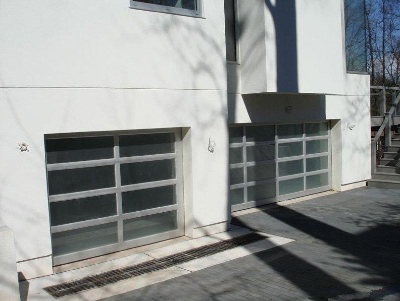 Custom Commerical Garage Doors