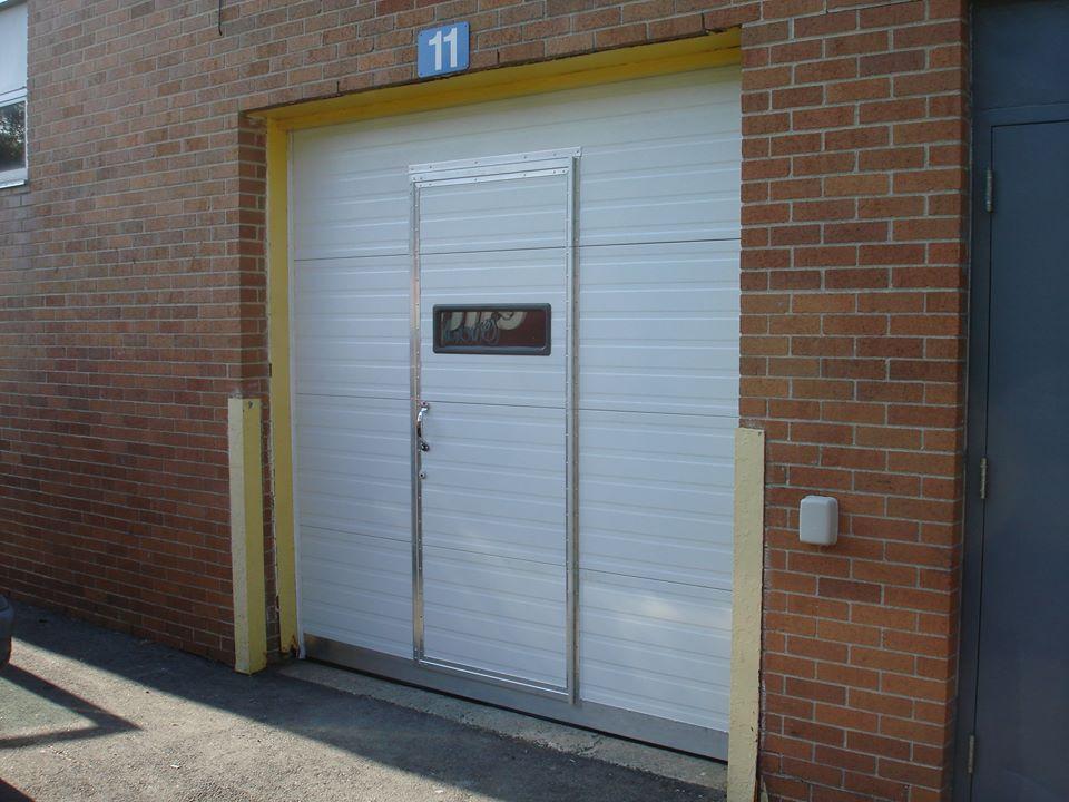 Custom Commerical Garage Door