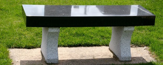 memorial millington benches headstones markers cemetery monuments granite beckwith grave road belsay couch street bench