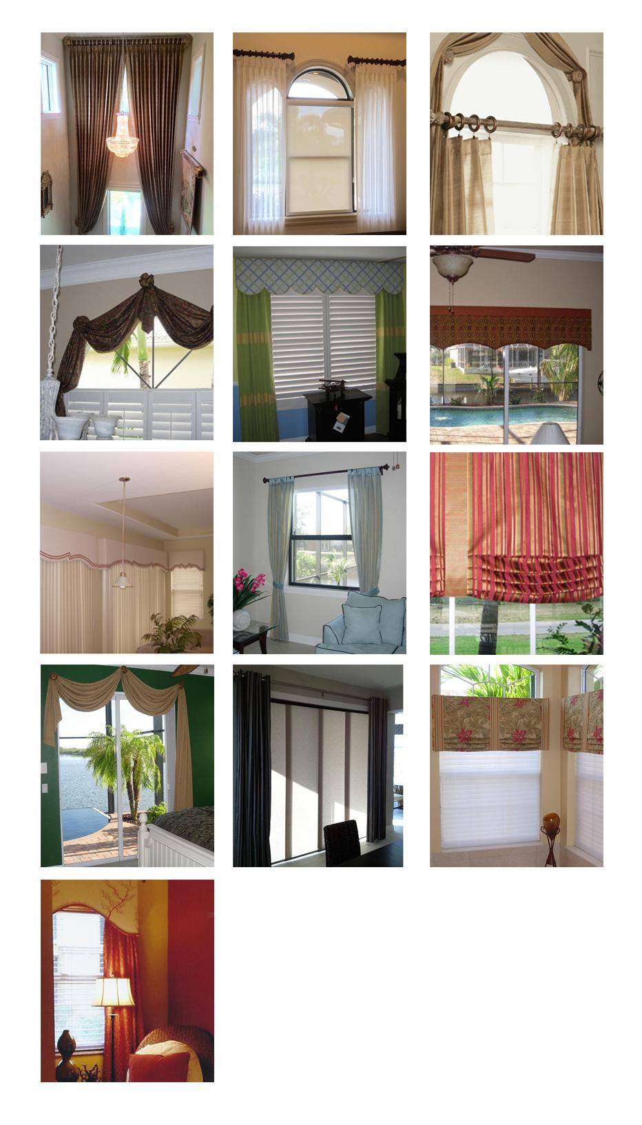 Window Treatment | Cape Coral, Fl | Discover Interiors LLC | 239-549-8300