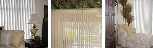 Vertical Blinds | Cape Coral, Fl | Discover Interiors LLC | 239-549-8300