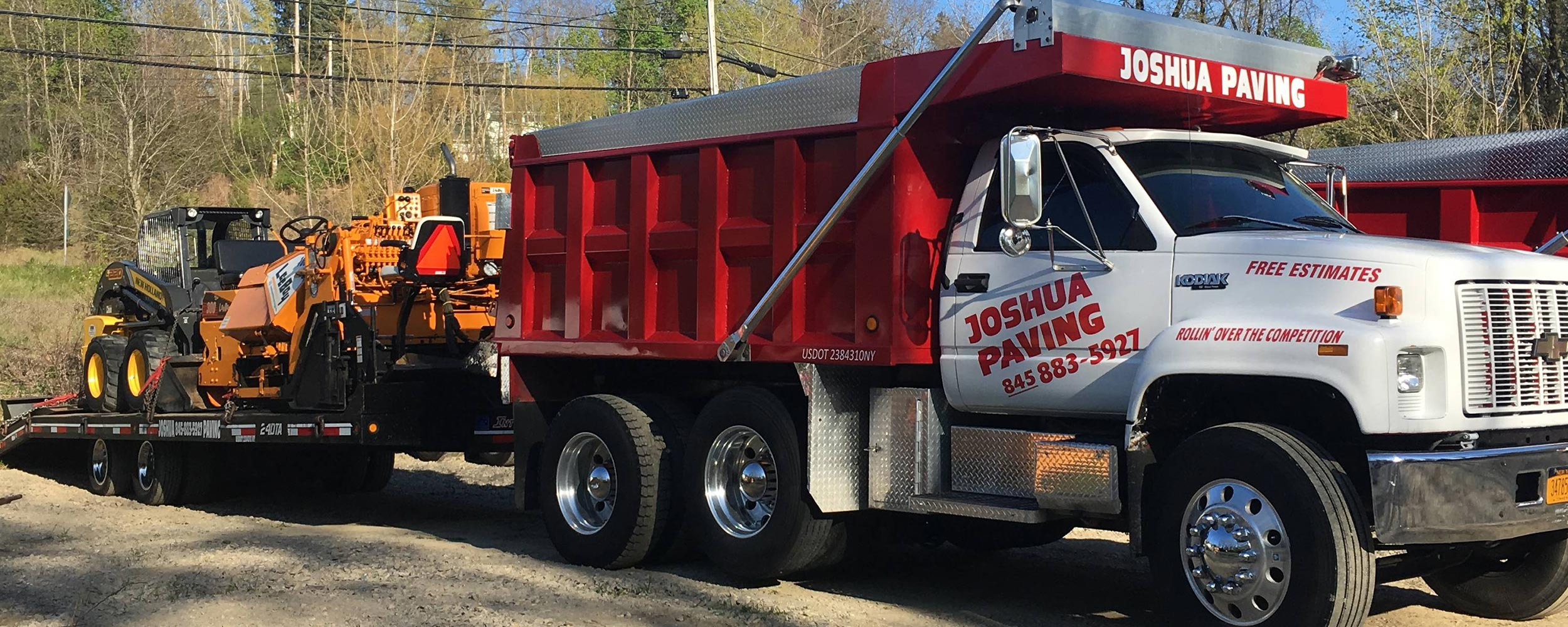 Joshua Paving Truck