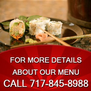 Japanese Cuisine - York, PA - Fujihana - japanese maki - For more details about our menu Call 717-845-8988