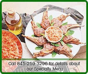 Restaurant - Brewster - Bernie's Deli and Catering - Call 845-259-3296 for details about our Specialty Menu