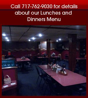 Steak Restaurant - Waynesboro, PA - Blondies - menu