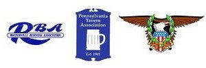 Rouzerville Business Association, Pennsylvania Tavern Association, ABATE Member logos