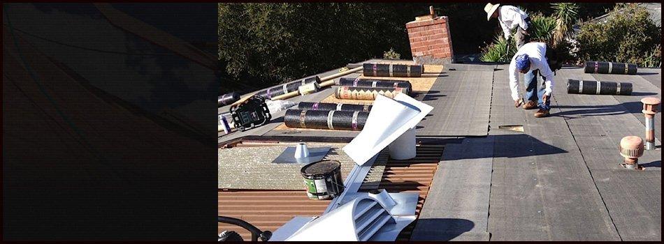 Shingles roof