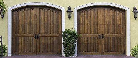 Home, wooden, garage, door