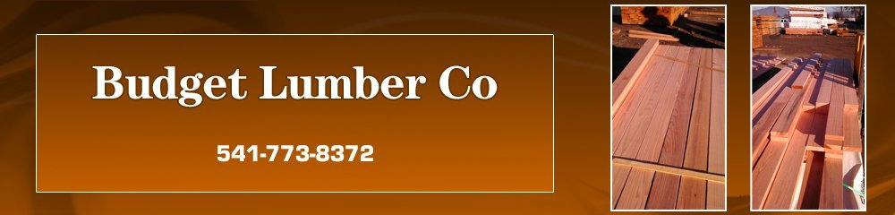 Building Materials - Medford, OR - Budget Lumber Co
