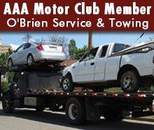 Towing Service - Greene, IA - O'Brien Service & Towing - Car Towing